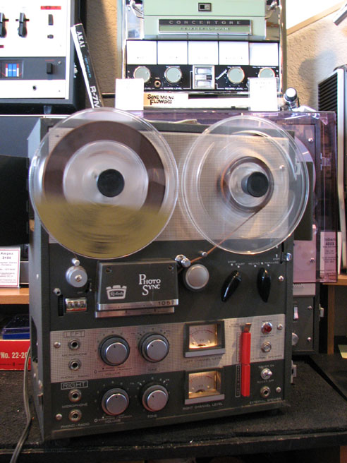 Roberts 1057 Photo Sync in the Phantom Productions vintage recording collection