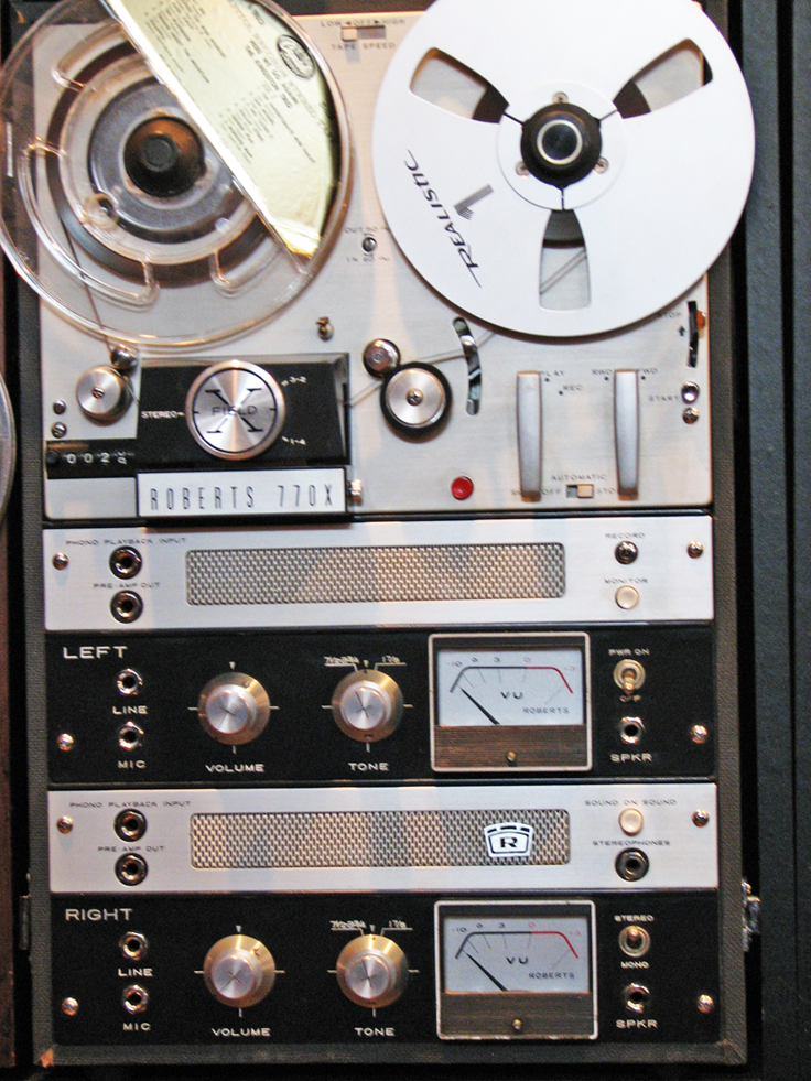 Roberts 770X in Reel2ReelTexas.com's vintage reel tape recorder collection