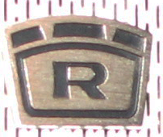"Roberts ""R"" crown logo on reel tape recorder in   Phantom Productions vintage tape recorder collection"