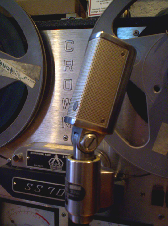 Shure 330 in Phantom Productions vintage recording collection