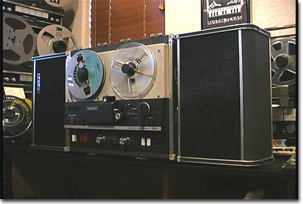 picture of Sony 500A tape recorder