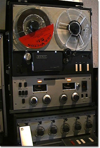 picture of Sony 777 Limited Edition professional reel to reel tape recorder
