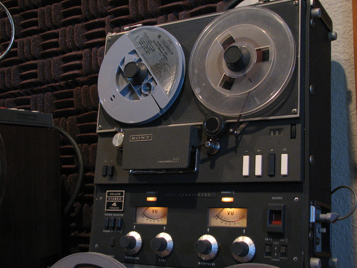 Sony 777 in Phantom Productions vintage tape recording collection