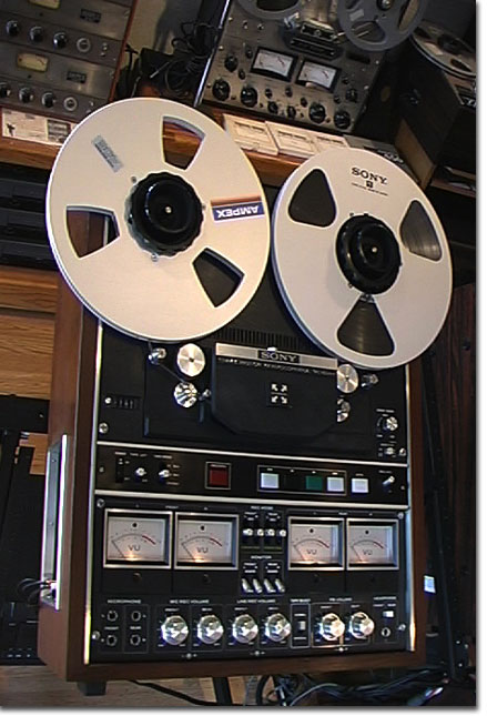 picture of Sony 854-4 4 track simul-sync reel tape recorder