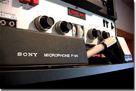 picture of Sony F-96 microphones