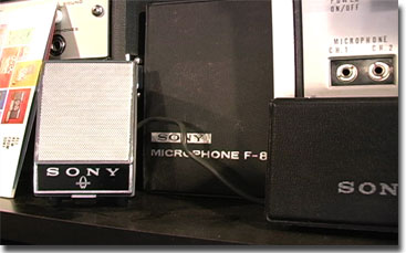picture of Sony F-87 Mikes