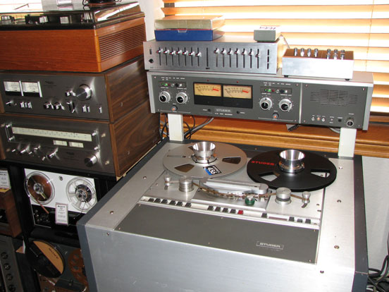 Studer B67 in Phantom Productions, Inc. vintage reel tape recorder collection