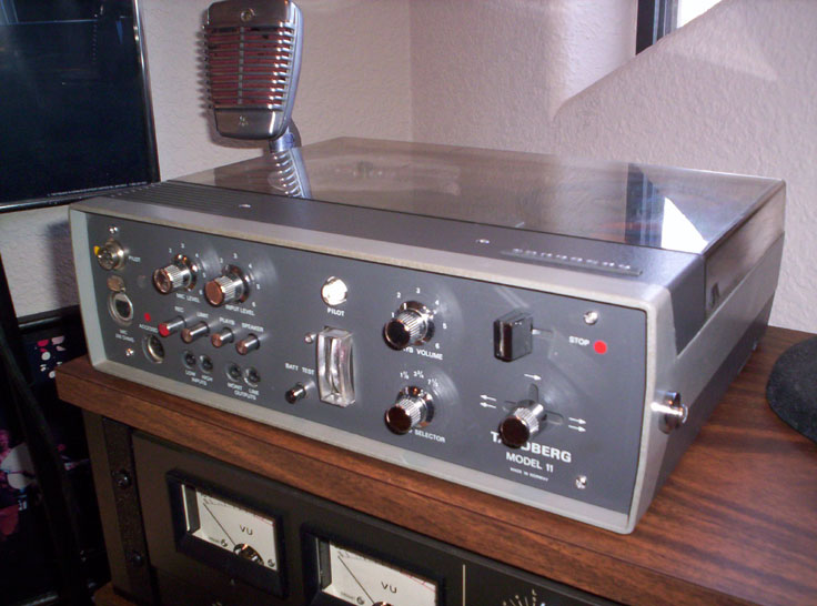 picture of Tandberg11CP in Phantom reel tape recorder collection