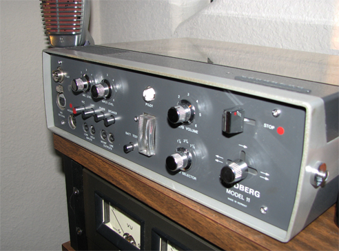 Tandberg 11CP reel tape recorder in PPI's vintage recording collection
