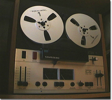 picture of Tandberg 3500X reel tape recorder