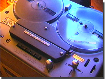 picture of Tandberg Model 6 tape recorder