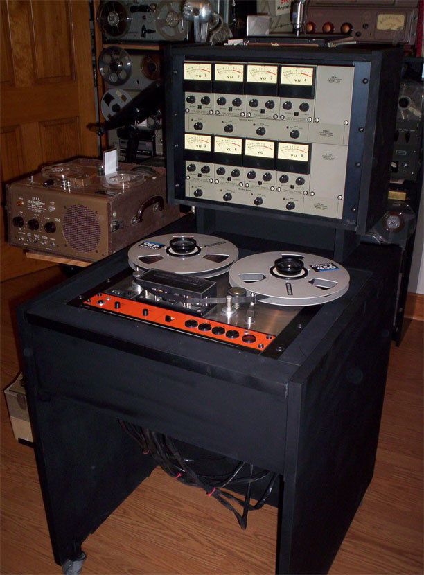 picture of Phantom museum's Tascam Series 70H8 8 track reel tape recorder