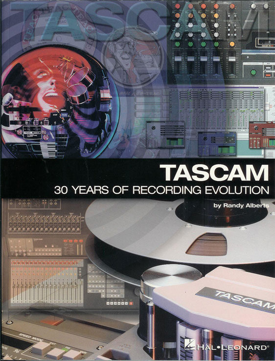 picture of Tascam book