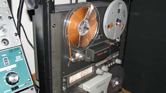 Teac 22-2 in Reel2ReelTexas' vintage reel to reel tape recorder collection