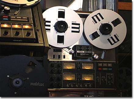picture of Teac A-3340 reel tape recorder