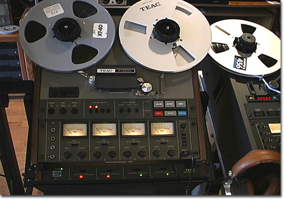 picture of Teac A-3440 with RX-9 4 channel dbx unit