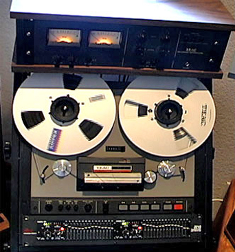 picture of Phantom Teac 35-2 2 track master reel tape recorder