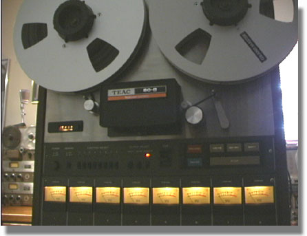 Phantom Productions' Vintage recorders - Teac 80-8