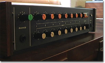picture of the Teac Model 1 mixer