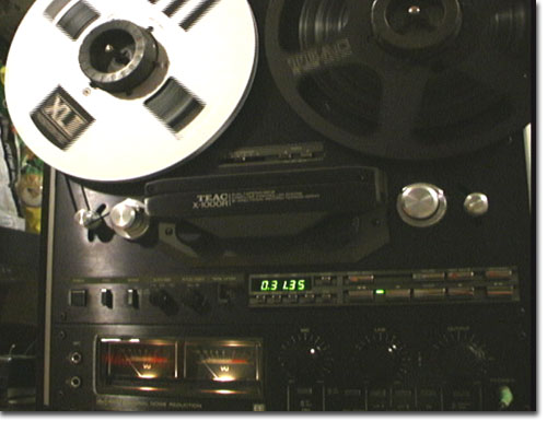 picture of Teac X-1000R reel tape recorder