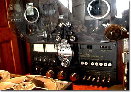 picture of Phantom Productions Technics RS-1700 reel tape recorder