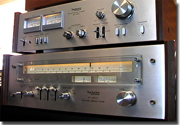 picture of Technics Amp and tuner
