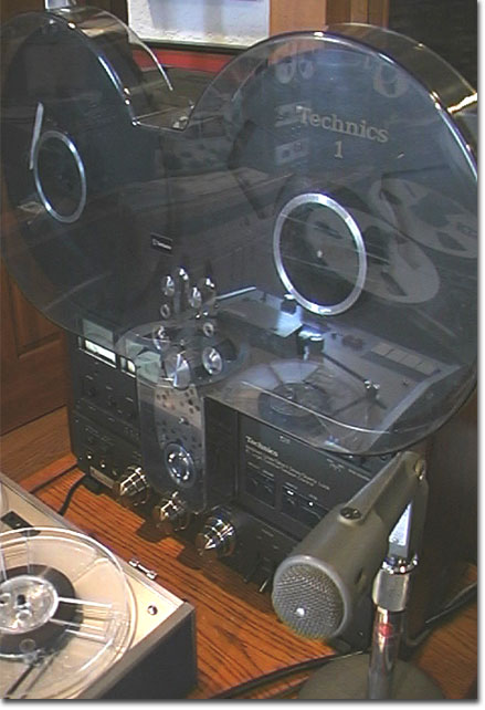 picture of EV 665 with Technics RS-1506