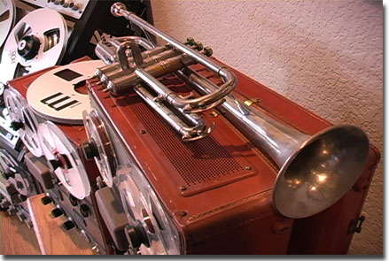 picture of Concertone professional trumpet