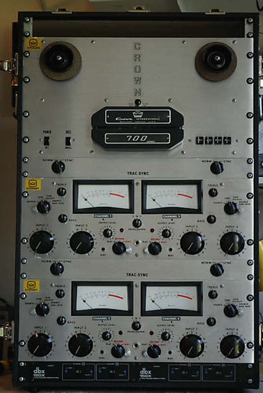 Crown CX-744 reel tape recorder