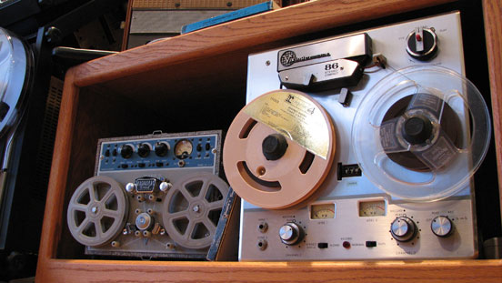 Viking 86 in Phantom Productions, Inc.'s vintage tape recorder collection