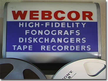 picture of Webcor sign