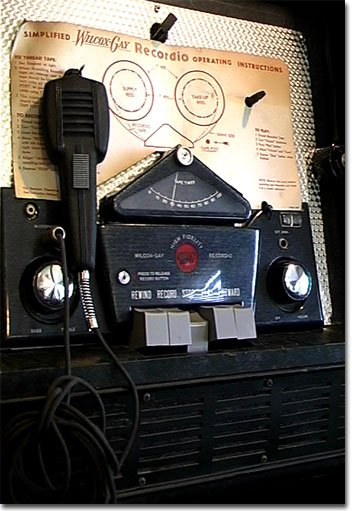 picture of Wilcox-Gay reel tape recorder