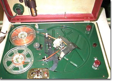 picture of Wilcox Gay phono &tape recorder