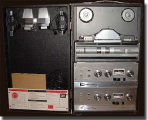 picture of Wollensak T1980 tape recorder